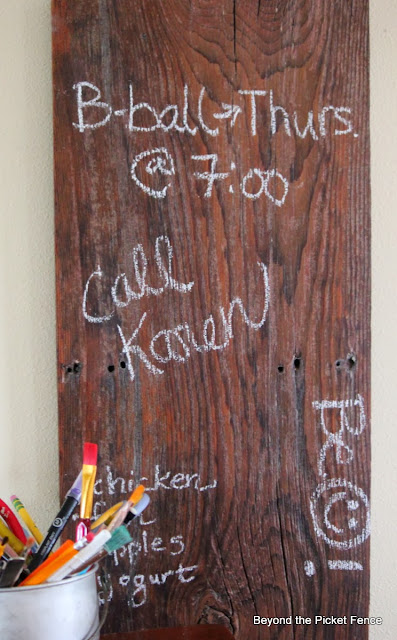 chalkboard chalk anything reclaimed wood bec4-beyondthepicketfence.blogspot.com