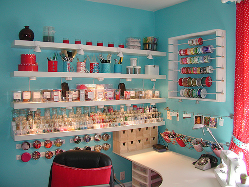 Cosiendo cositas: CUARTO DE COSTURA/ SEWING ROOM