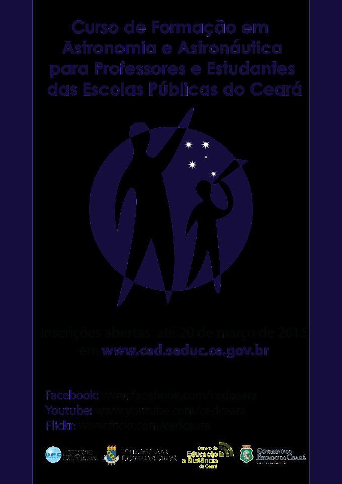 CED abre inscrições para curso de Astronomia e Astronáutica para professores e alunos