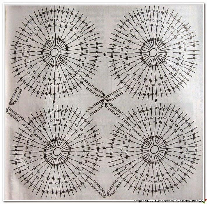 Patrón de Cojín con fino diseño tejido con ganchillo