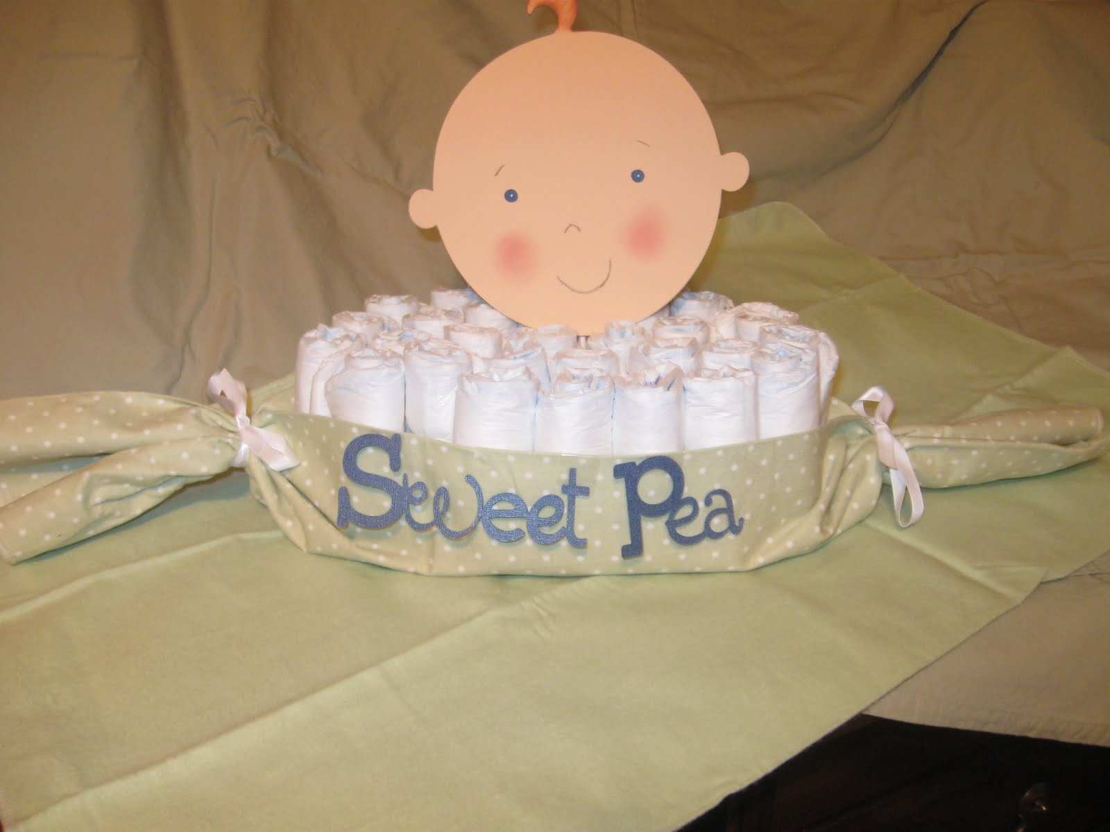 diaper cakes and I thought this would be Perfect!! Love it