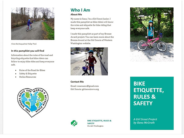 Bike Safety Pamphlet