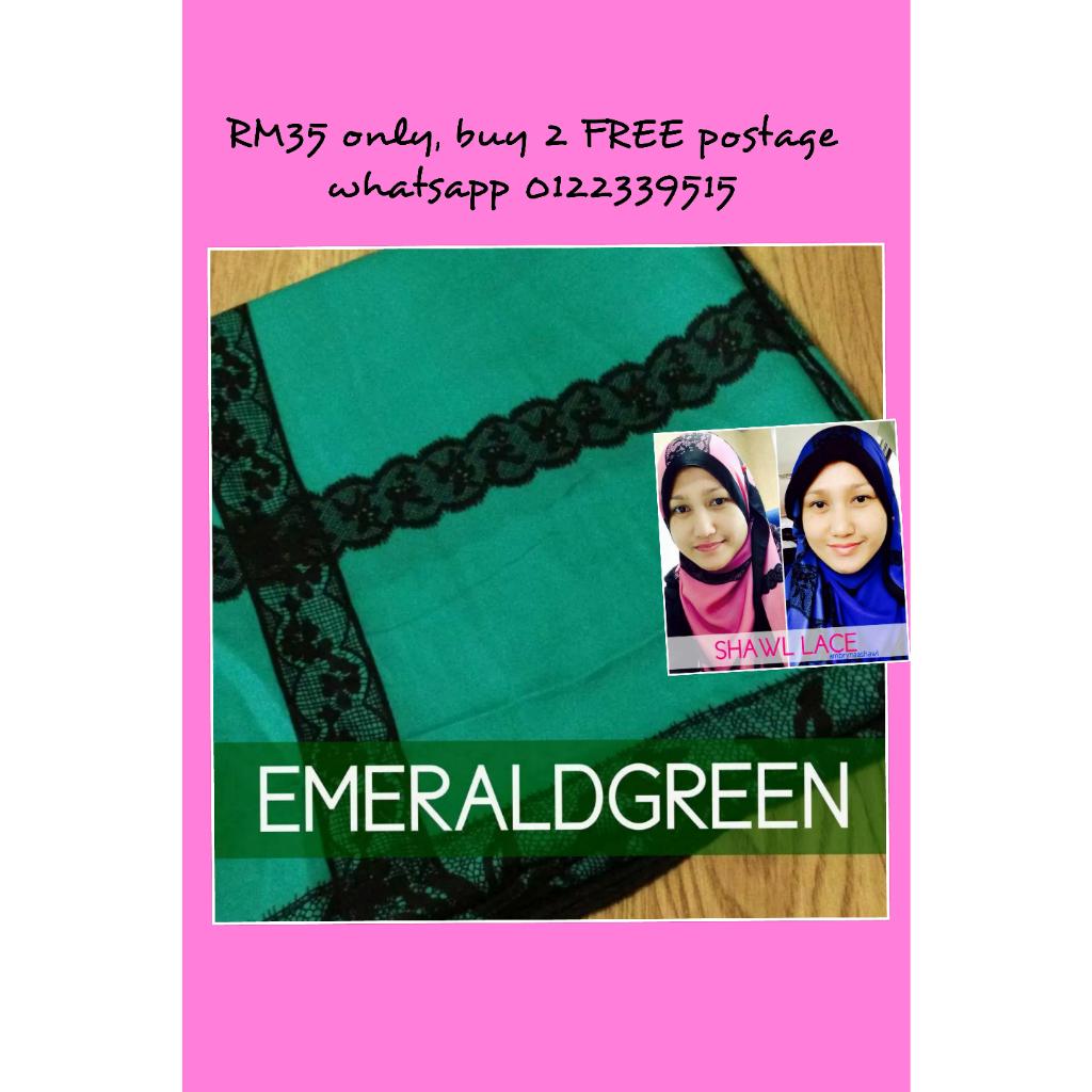 shawl Dato Siti Nurhaliza