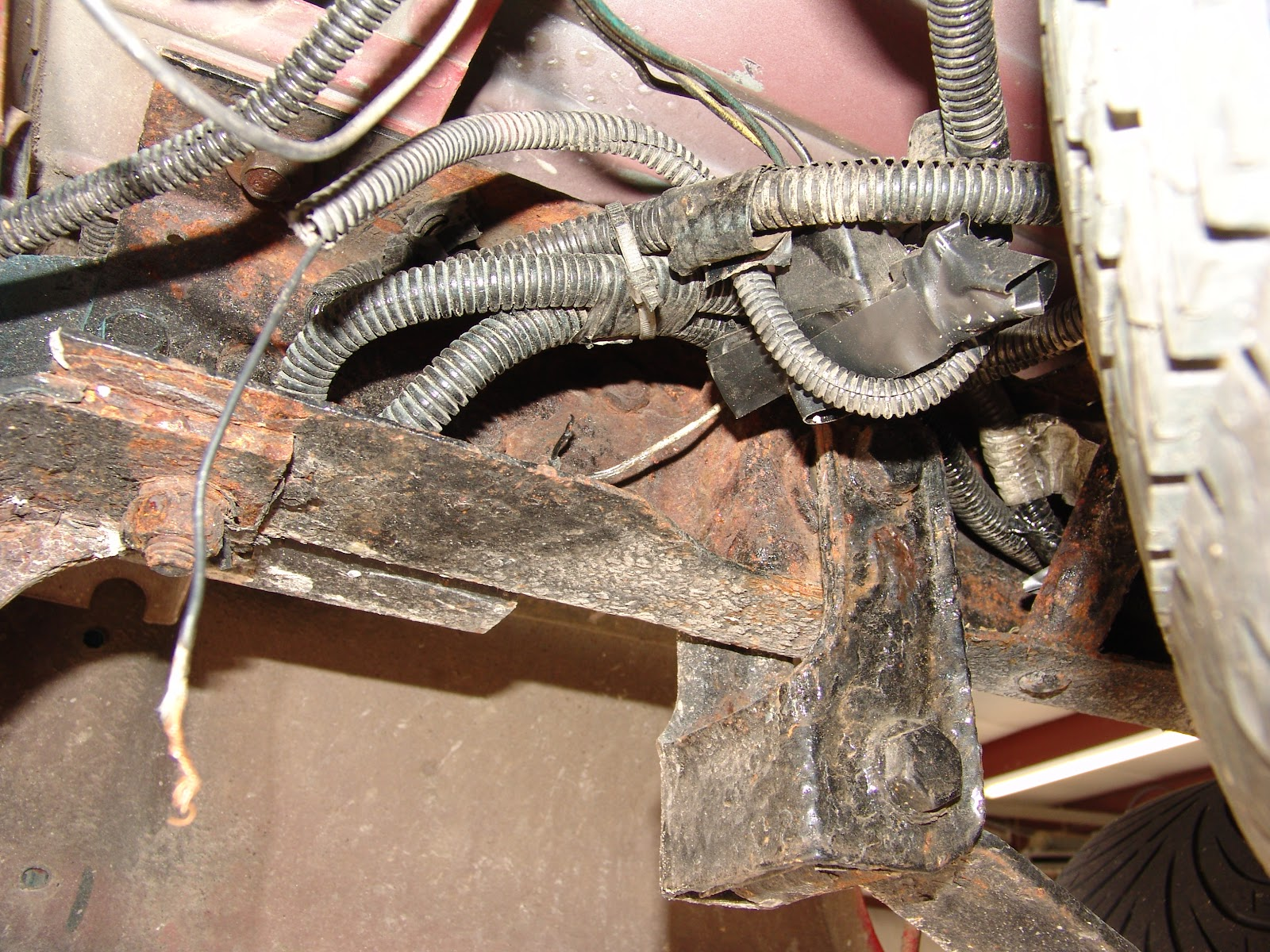 The Factory Ground Bolt Was Heavily Rusted And Would Not