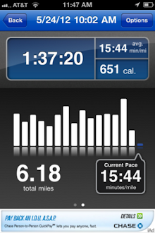 Social Workout Logged 5.24.12