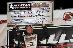 Bobby Pierce wins the $5,000 UMP DIRTcar Spring Nationals at Eldora Speedway 4-12-2014