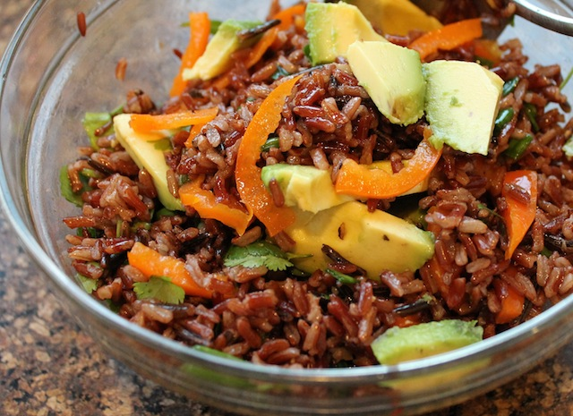 Food Lust People Love: Red Camargue and Wild Rice Salad