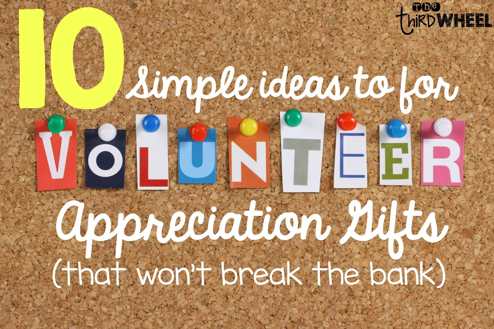 Inexpensive Gifts For Volunteers