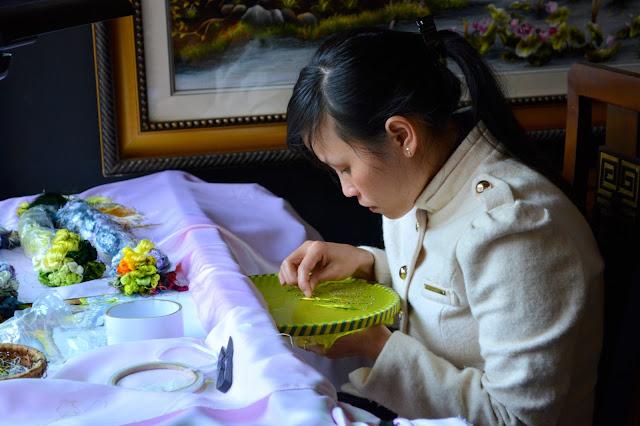 рукоделие во Вьетнаме