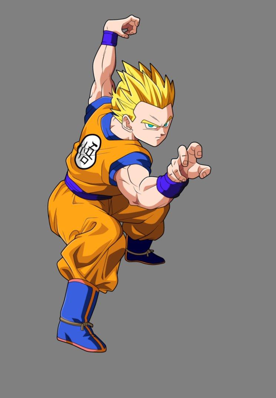 Dragon Ball GT Goten SSJ