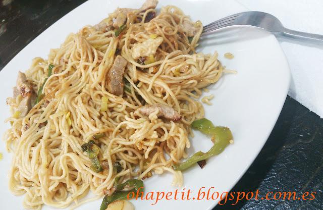 Noodles con sec...