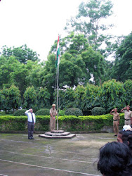 Raising of the Indian Flag