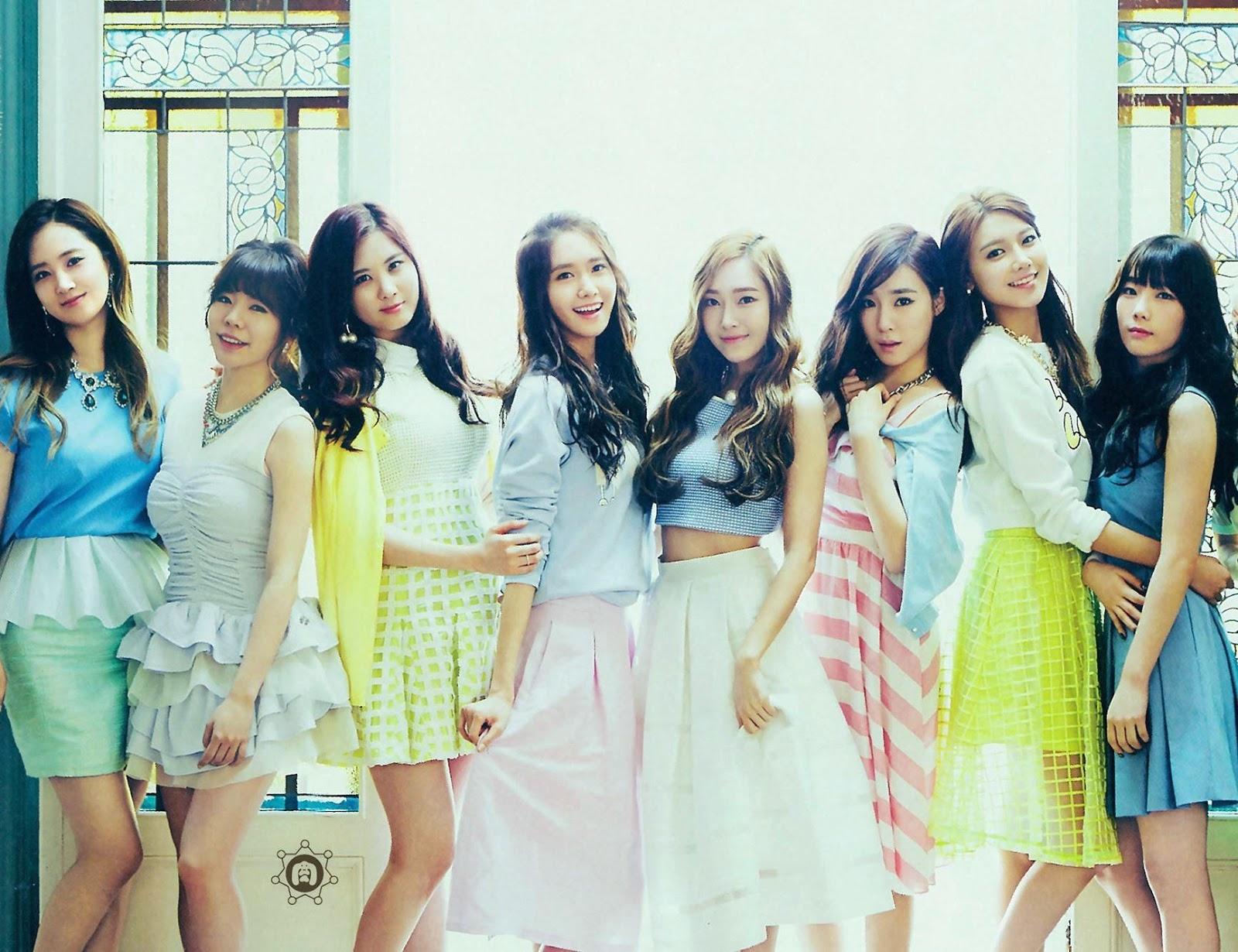 SNSD Girls Generation The Best Scan Wallpaper HD 4