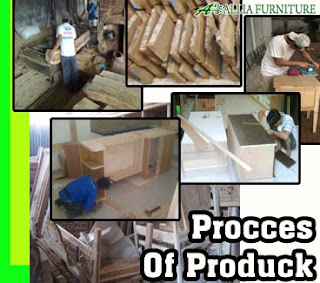 Proses Pengerjaan Produk Mebel Allia Furniture