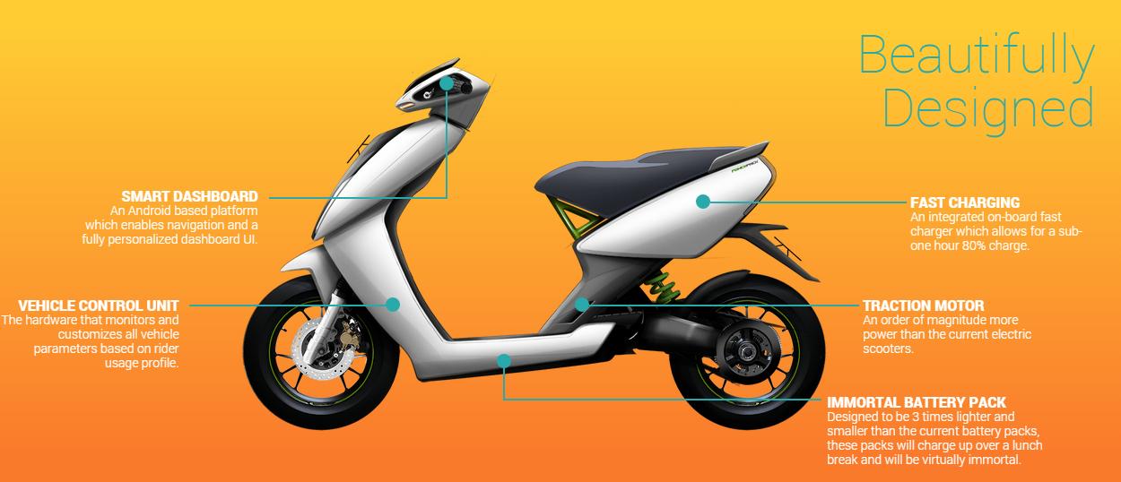 Ather Electric Vehicle Prototype