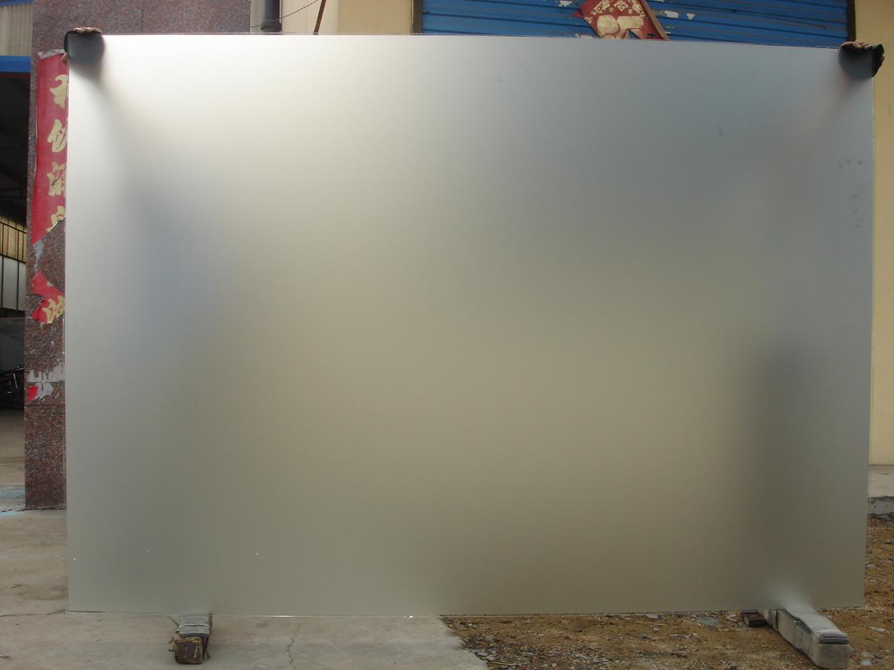 All About Glass Frosted Glass Application