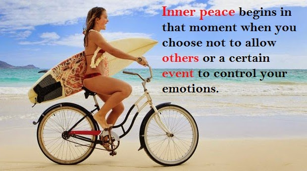 When Inner peace begins?