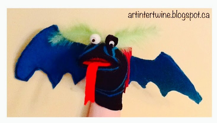 Dragon Sock Puppets