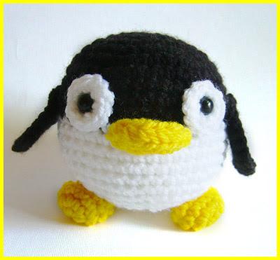 """""""pingüino amigurumi"""""""