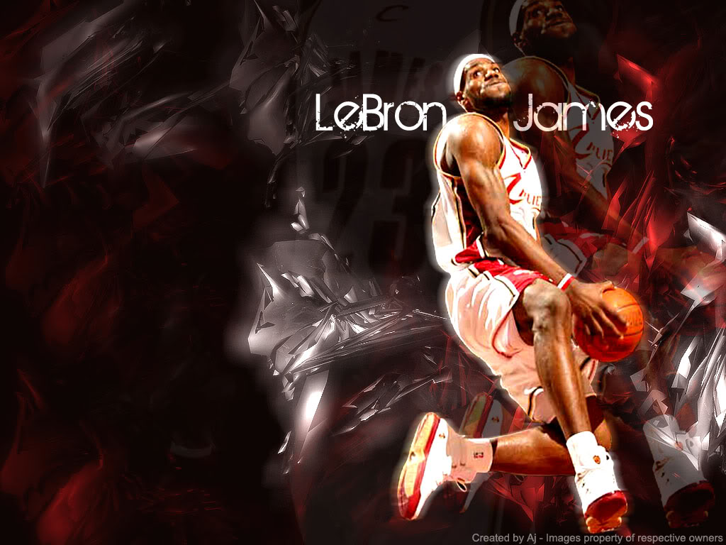 Lebron James New HD Wallpapers 2012 - Its All About Basketball