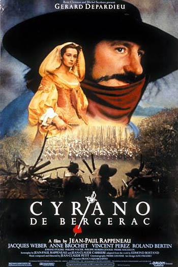 a comparison of cyrano de bergerac the play and roxane the movie While comparing the 80s movie roxanne to cyrano de bergerac (the play on  which it was based), they touch on the perceived shallowness of.