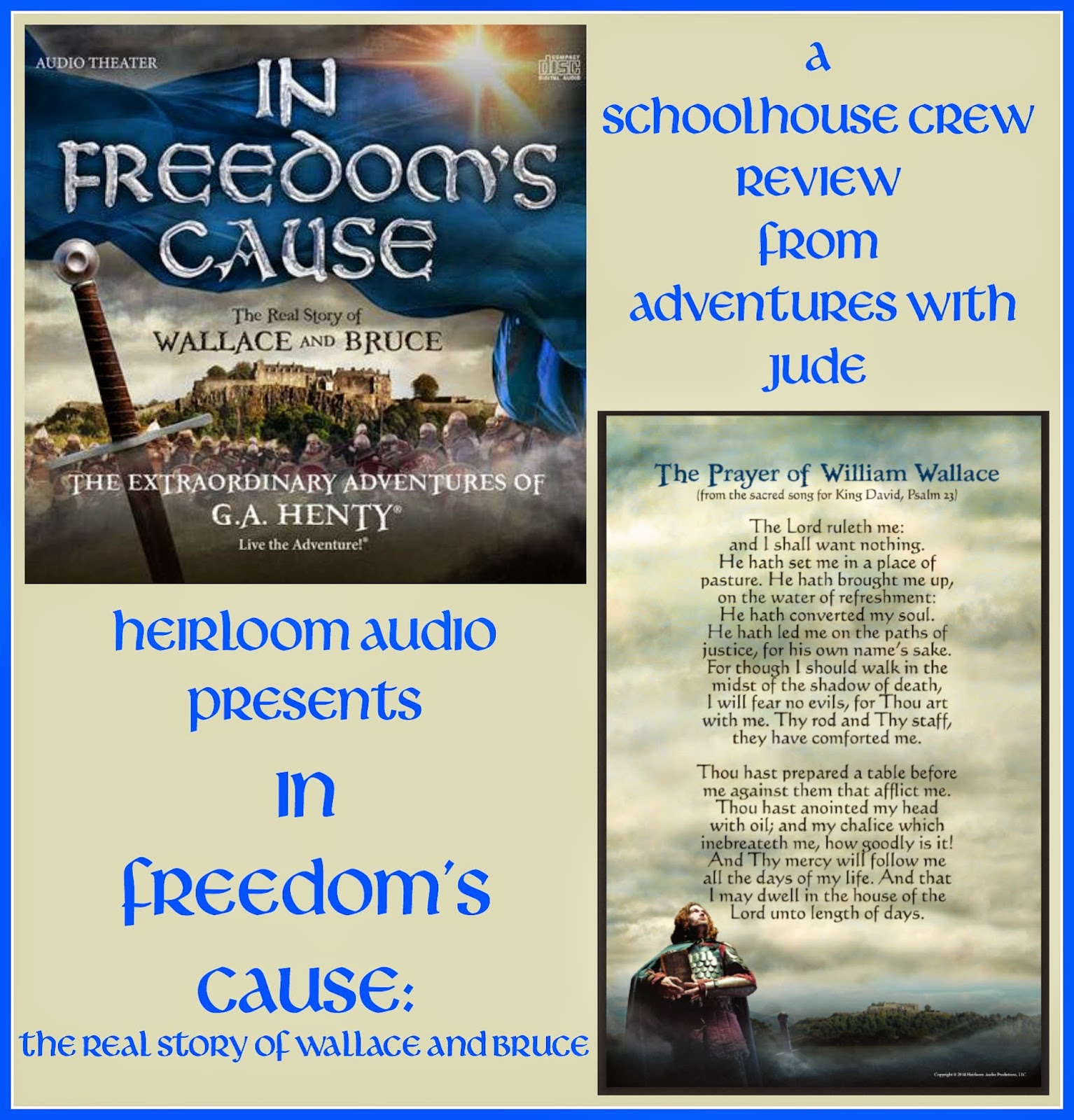 In Freedom's Cause - audiodrama of the story of William Wallace and Robert the Bruce