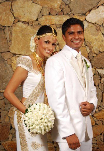 Sri Lankan Actress Wedding Photos