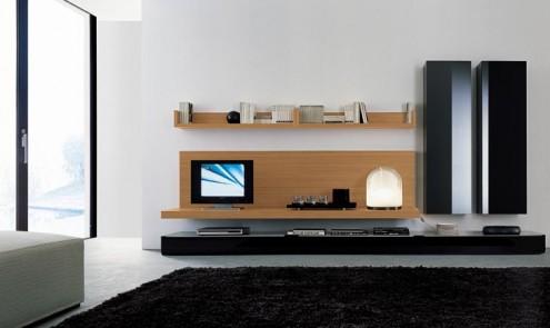 Modernos y lujosos muebles para tv para el living room o for C o the living room