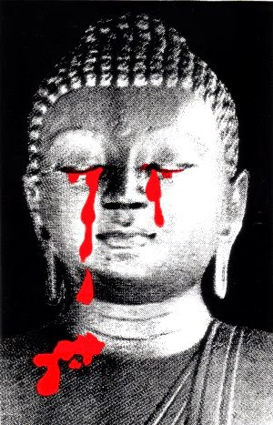Blood tears of Lord Buddha!