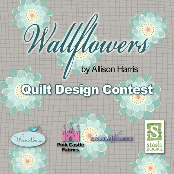 Quackadoodle quilt wallflowers design contest - Wall flower design ...