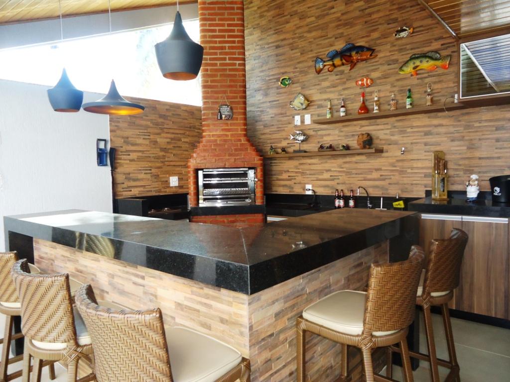 Cozinha Gourmet Com Churrasqueira Area Externa