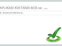 Aplikasi Kwitansi Excel Penunjang Laporan SPJ BOS