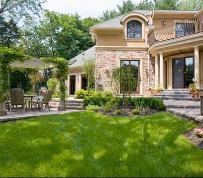 Fotos de terrazas terrazas y jardines frente de casas for Casas con terraza al frente