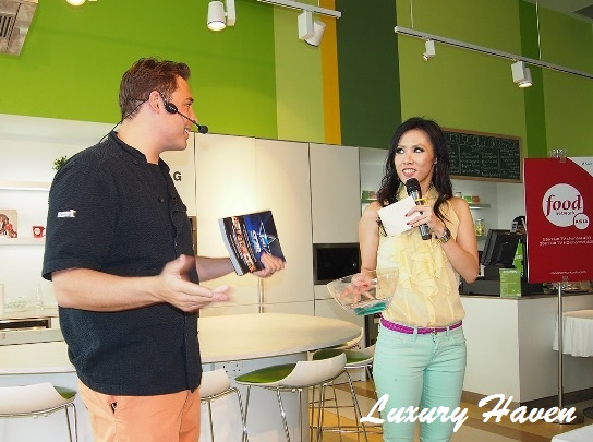 food network asia star winning recipes lucky draw