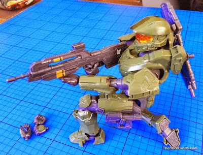 Bandai SpruKit Halo Master Chief level 3 model review
