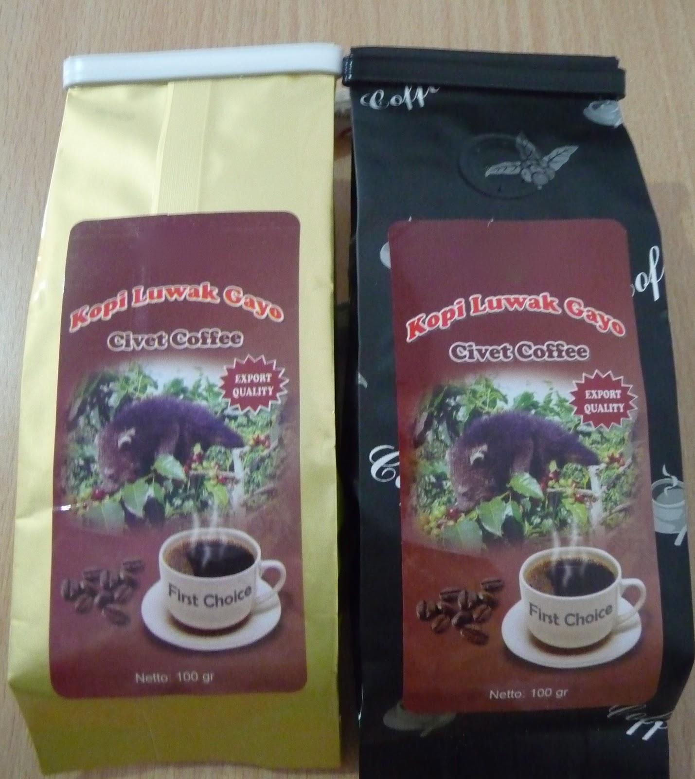 Civet Coffee Kopi Luwak From Firebox Packaging Lembah Cimanong 250 Gram By Arabica 100g Powder 100 Grams