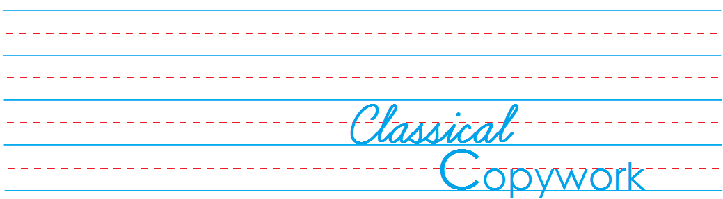 Classical Copywork Banner