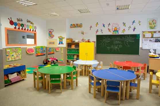 Organizaci n del aula de educaci n infantil for Decoracion de espacios de preescolar
