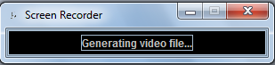 screen recording generate video