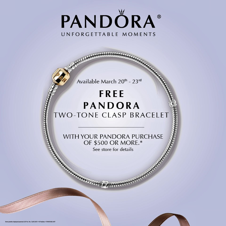 Don't Miss the PANDORA Free Bracelet Summer Event!
