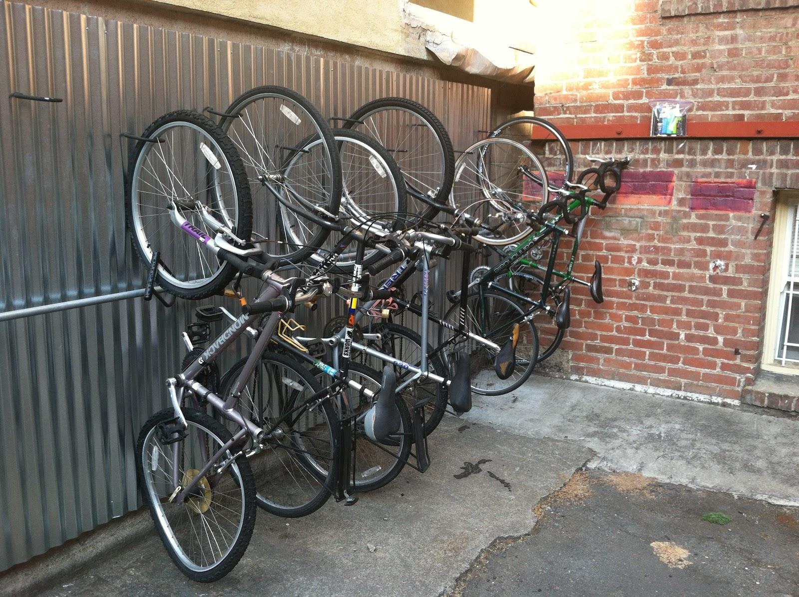 Oakland Streets Bike Rack Art