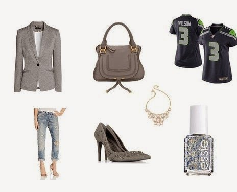 Womens NFL outfit Seahawks Jersey