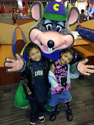 Chuck E Cheese.Where a kid can be a kid!
