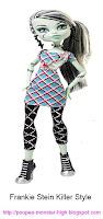 Poupée Monster High Frankie Stein Killer Style