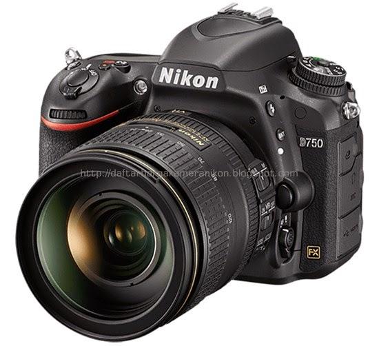 Harga Kamera DSLR Nikon D750