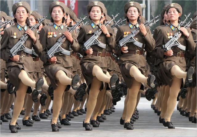 Militer+wanita Peraturan – Peraturan Aneh Wanita Korea Utara