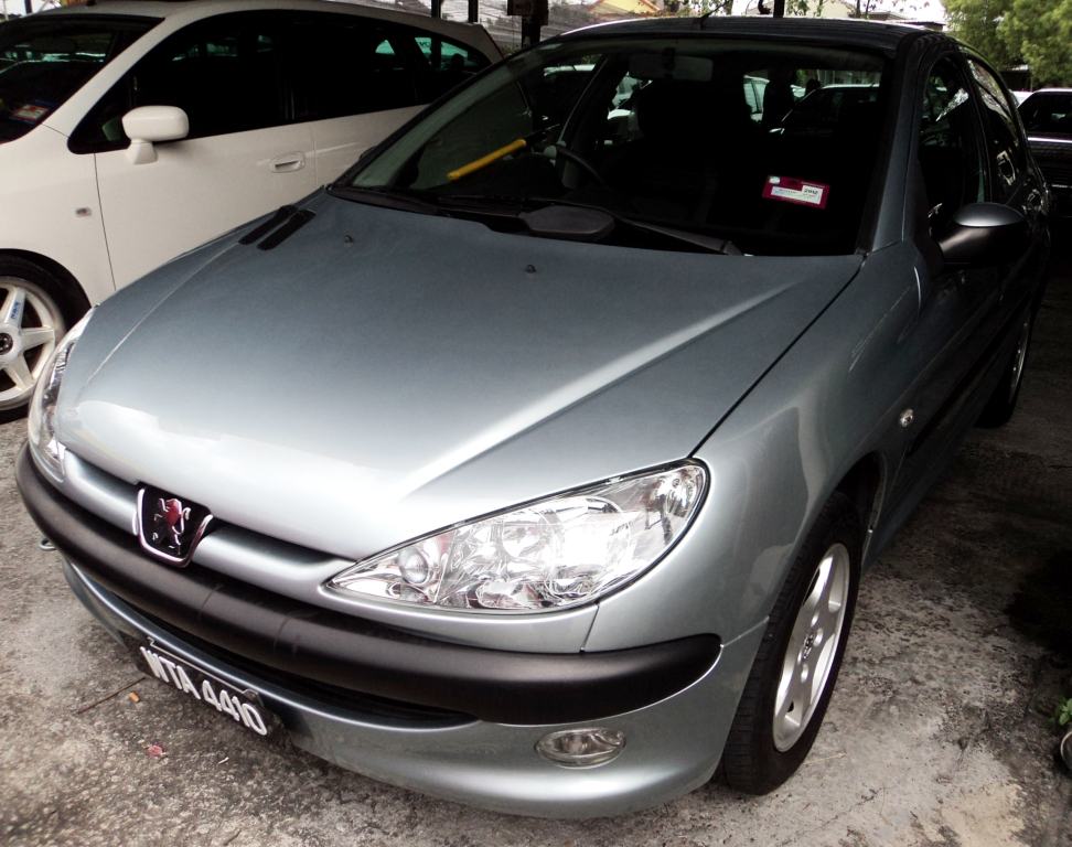 Sold Peugeot 206 Tiptronic Gear 1 4 A 2009