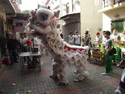 Dragon dance.
