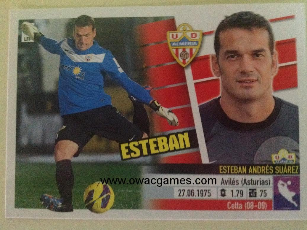 Liga ESTE 2013-14 Almeria 1 - Esteban
