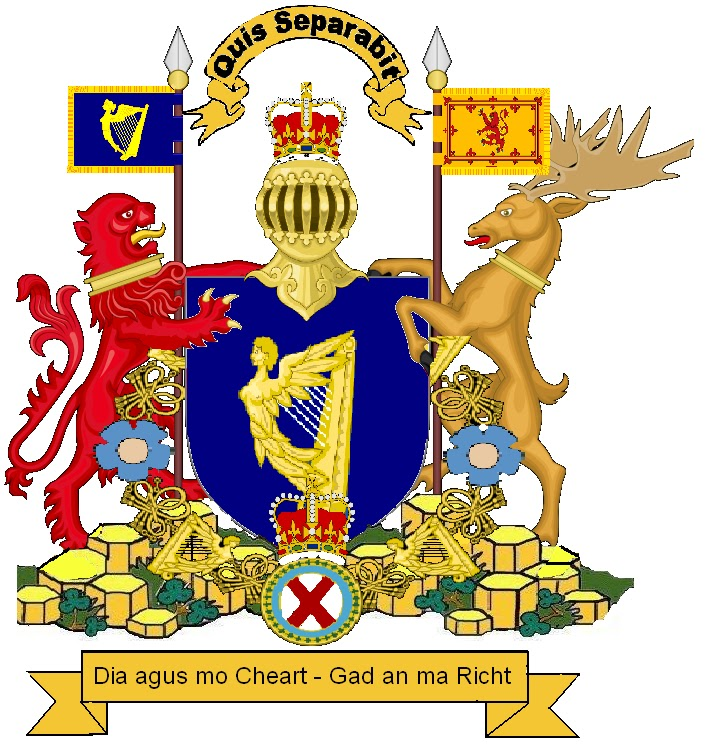 Sam's Flags: Northern Ireland Flag and Coat of Arms.